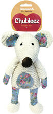 Rosewood Maisie Mouse Dog Toy | Chubleez Comfort Squeaky Plush Medium Beige Soft
