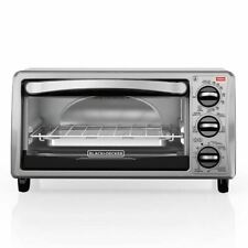 BLACK+DECKER TO1313SBD 4-Slice Toaster Oven - Black
