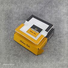 Cohiba Hand Painted Pattern Bone Porcelain 2 Slots Cigar Ashtray New Gift Box