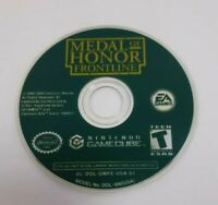 Medal of Honor Frontline Nintendo Gamecube Disc Only Tested and Working