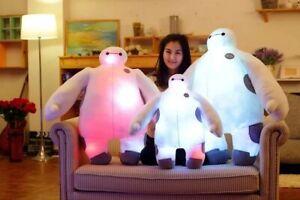 Big Hero 6 music Baymax Robot 60cm light & sound stuffed Plush toy filled doll