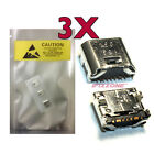 3 X New Micro USB Charging Port For Samsung Galaxy Tab 3 Lite 7.0 SM-T113NY USA