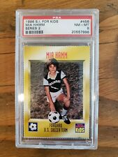 1996 S.I. For KIds Mia Hamm Series 2 #456 PSA 8 Sports Illustrated