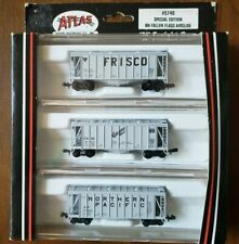 N Scale Atlas Special Edition BN Fallen Flags Covered Hopper Freight 3 Pack 5740