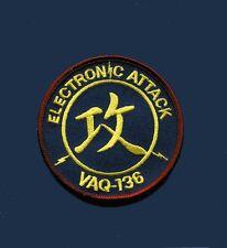VAQ-136 GAUNTLETS Electronic Attack US NAVY Grumman EA-6B Prowler Squadron Patch