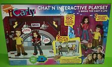 I CARLY CHAT,N INTERACTIVE PLAYSET U BRING THE CAST TO LIFE BY NICKELODEON