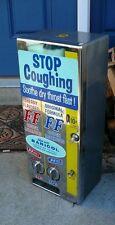 Vintage 1950's F&F Cough Drop Throat Losenge Vending Machine