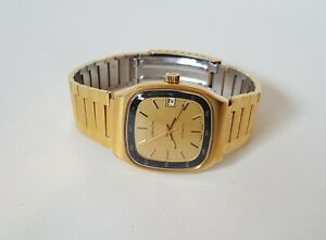 Men's Gold Plated Zenith Automatic Wrist Watch