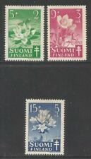 Finland 1950 Local Flowers semipostal-Attractive Topical (B101-03) Mh