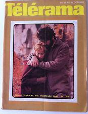 Télérama 23/10/1971; Elliot Gould et Bibi Andersson/ Françoise Rosay/ Lapierre