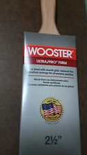 """Wooster 2 1/2"""" Ultra Pro Firm Mink Lot of 12 Paintbrushes 4175"""