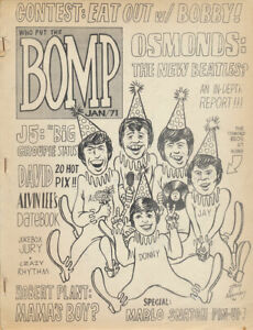 Who Put The Bomp issue 6 - February 1971 [USA] - Magazine