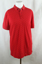 Mexx T-Shirt Haut Polo Rouge, Homme Taille M, Neuf, LP