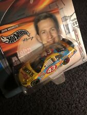 2002 HOT WHEELS RACE DAY JOHN ANDRETTI  INCLUDES TRADING CARD