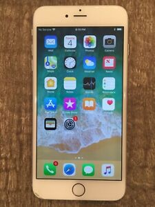 Apple iPhone 6 Plus, 128GB, Silver (Unlocked) A1522 (GSM)