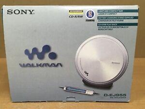 Sony Walkman Portable CD Player D-EJ955 BOXED