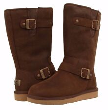 UGG Australia SUTTER Kensington Toast Boots US 7 EU 38 UK 5.5 NEW LAST PAIR
