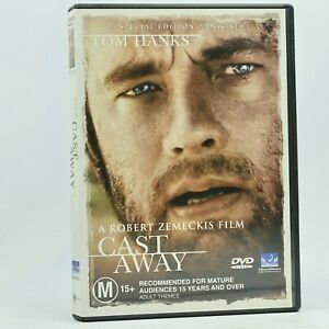 Cast Away Tom Hanks DVD Good Condition Free Tracked Post Excellent