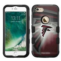 for Apple iPhone 8 Impact Armor Rugged Hard Hybrid Case Atlanta Falcons #BG