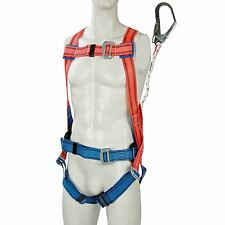 Silverline Restraint Kit Harness & Lanyard Safety Fall Protection Height Protect