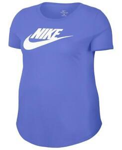 Nike Women's 2X Plus Size Sportswear Cotton Logo T-Shirt, Purple, $30, NwT
