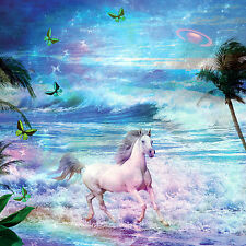 ENCHANTED HORSE ( 1 ) GREETING CARD WITH C.D