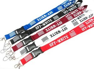 Off White Fashion Sports Brand Lanyard NEW UK Seller Black Pink Shoes Clothing