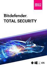 BitDefender Total Security 2020 3 / 5 o 10  Dispositivi 1 Anno 2019 IT