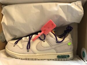 Nike Low Dunk Off-White Lot 15 size 9.5