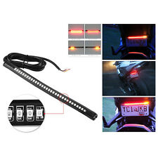 Tail Stop & Signal Indicator 32 LED Bar Light Strip For Universal Motorcycles