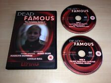 DEAD FAMOUS COMPLETE 1ST FIRST SEASON SERIES 1 ONE DVD GAIL PORTER GHOST HUNTING
