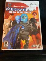 NEW FACTORY SEALED MegaMind: Mega Team Unite  (Wii, 2010)