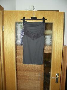 garnitur slip / hemd v. MEY gr. 42 grau