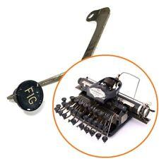 BLICKENSDERFER No.5 TYPEWRITER FIG KEY & Lever Antique Schreibmaschine Part Vtg