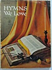 Hymns We Love Organ Sheet Music Book Robbins Music Corporation 1968
