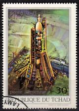 République du TCHAD - 1972 - Soyouz 11 - Poste aérienne N° 105 oblitéré