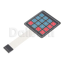 2pcs @$3.75 New 4x4 Matrix Array 16 Key Membrane Switch Keypad Arduino