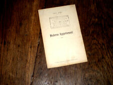 moderne appartement texte seul air noté 1920 Paul Weil chansonnier Montmartre