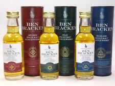 Ben Bracken Whisky single malt  Set 3 x 5 cl mini flasche bottle miniature