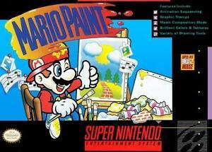 Mario Paint (Super Nintendo) - LOOSE