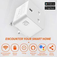 Wi-Fi Smart UK Plug Alexa–Remote Control Switch Socket for Echo Google Home Etc