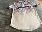 Hersey boys t shirt age 12-13 years blue /white and light pink