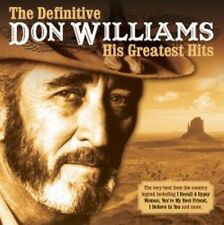 Don Williams - The Definitive Don Williams (NEW CD)