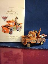 Hallmark Keepsake Ornament Disney Pixar Cars Secret Agent Mater