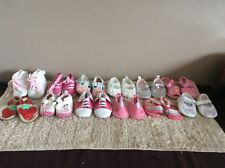 12 pairs of Baby girls sandals,  and shoes  From Birth BUNDLE (2)