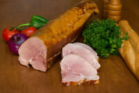 """Smoked Pork Chops,KASSLER RIPPCHEN Bone-In  4p,1""""thick,or 6 lb loin!!US SELLER!!"""