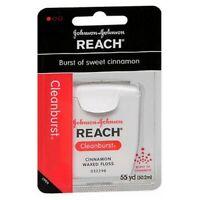 Johnson & Johnson Reach Dental Floss Waxed Cinnamon 1 e