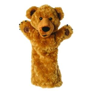 The Puppet Company - 25cm Long Sleeved Bear Hand Puppet (BE20)