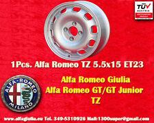 1 Cerchio Alfa Romeo Giulia TI TZ 5.5x15 ET23 Wheel Felge jante TUV