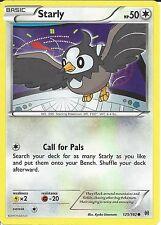 POKEMON CARD XY BREAK THROUGH - STARLY 125/162